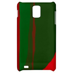 Green and red lines Samsung Infuse 4G Hardshell Case