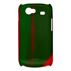 Green and red lines Samsung Galaxy Nexus S i9020 Hardshell Case