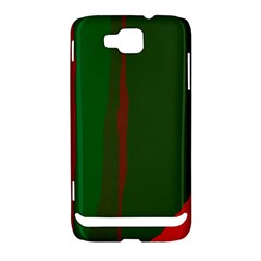 Green and red lines Samsung Ativ S i8750 Hardshell Case