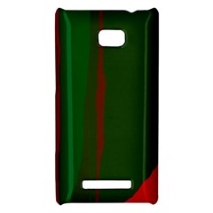 Green and red lines HTC 8X