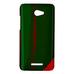 Green and red lines HTC Butterfly X920E Hardshell Case