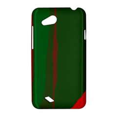 Green and red lines HTC Desire VC (T328D) Hardshell Case