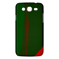 Green and red lines Samsung Galaxy Mega 5.8 I9152 Hardshell Case