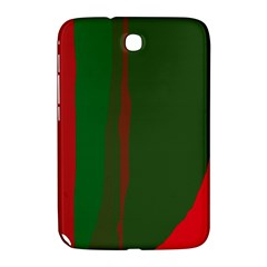 Green and red lines Samsung Galaxy Note 8.0 N5100 Hardshell Case