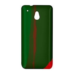 Green and red lines HTC One Mini (601e) M4 Hardshell Case