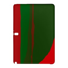 Green and red lines Samsung Galaxy Tab Pro 10.1 Hardshell Case