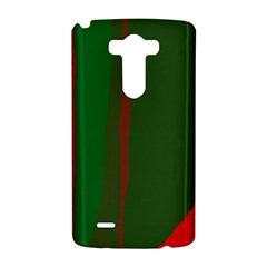 Green and red lines LG G3 Hardshell Case