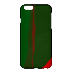 Green and red lines Apple iPhone 6 Plus/6S Plus Hardshell Case