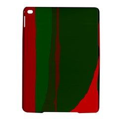 Green and red lines iPad Air 2 Hardshell Cases