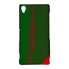 Green and red lines Sony Xperia Z3