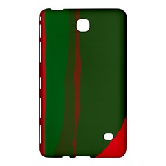 Green and red lines Samsung Galaxy Tab 4 (7 ) Hardshell Case