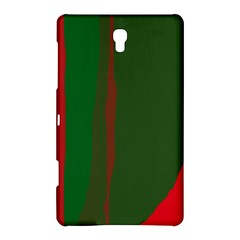 Green and red lines Samsung Galaxy Tab S (8.4 ) Hardshell Case