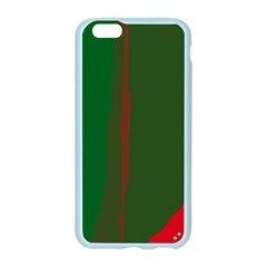 Green and red lines Apple Seamless iPhone 6/6S Case (Color)