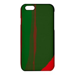 Green and red lines iPhone 6/6S TPU Case