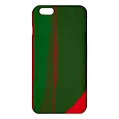 Green and red lines iPhone 6 Plus/6S Plus TPU Case