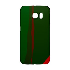 Green and red lines Galaxy S6 Edge
