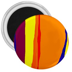Hot colorful lines 3  Magnets