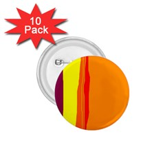 Hot colorful lines 1.75  Buttons (10 pack)