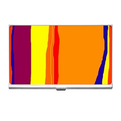 Hot colorful lines Business Card Holders