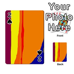 Hot colorful lines Playing Cards 54 Designs