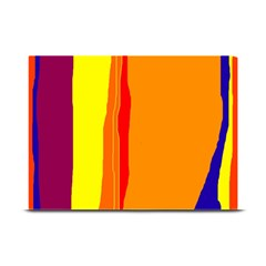 Hot colorful lines Plate Mats