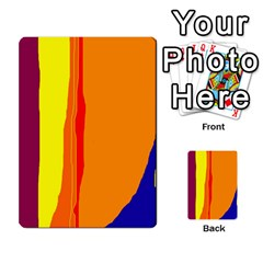 Hot colorful lines Multi-purpose Cards (Rectangle)