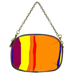 Hot colorful lines Chain Purses (One Side)
