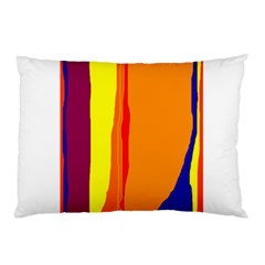 Hot colorful lines Pillow Case