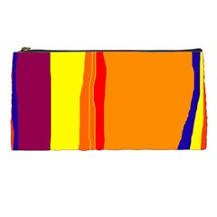 Hot colorful lines Pencil Cases