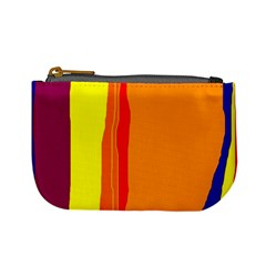Hot colorful lines Mini Coin Purses