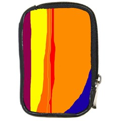 Hot colorful lines Compact Camera Cases