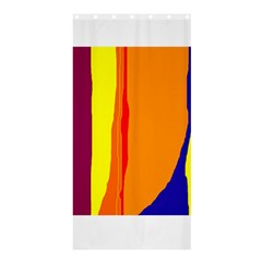 Hot colorful lines Shower Curtain 36  x 72  (Stall)