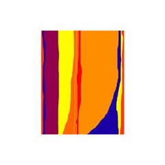 Hot colorful lines Shower Curtain 48  x 72  (Small)