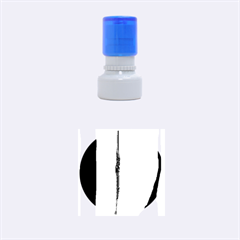 Hot colorful lines Rubber Round Stamps (Small)