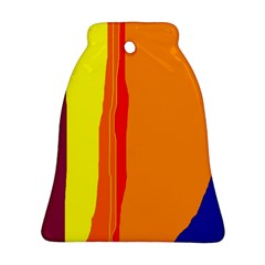Hot colorful lines Bell Ornament (2 Sides)