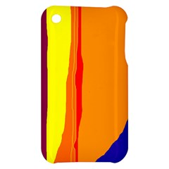 Hot colorful lines Apple iPhone 3G/3GS Hardshell Case