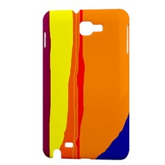 Hot colorful lines Samsung Galaxy Note 1 Hardshell Case