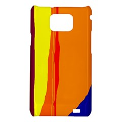 Hot colorful lines Samsung Galaxy S2 i9100 Hardshell Case