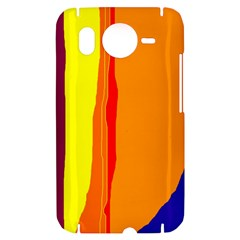 Hot colorful lines HTC Desire HD Hardshell Case
