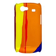 Hot colorful lines Samsung Galaxy Nexus S i9020 Hardshell Case