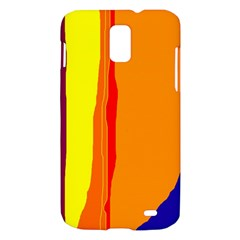 Hot colorful lines Samsung Galaxy S II Skyrocket Hardshell Case