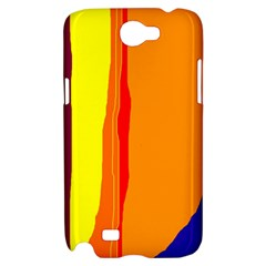 Hot colorful lines Samsung Galaxy Note 2 Hardshell Case