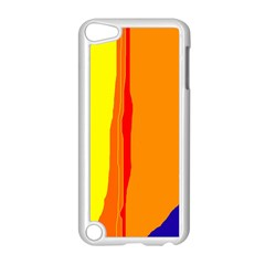 Hot colorful lines Apple iPod Touch 5 Case (White)