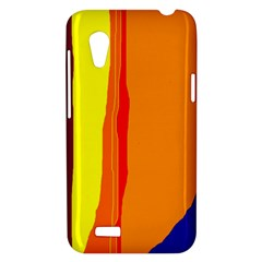 Hot colorful lines HTC Desire VT (T328T) Hardshell Case