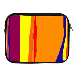 Hot colorful lines Apple iPad 2/3/4 Zipper Cases
