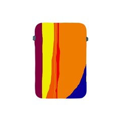 Hot colorful lines Apple iPad Mini Protective Soft Cases