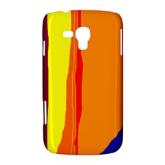 Hot colorful lines Samsung Galaxy Duos I8262 Hardshell Case