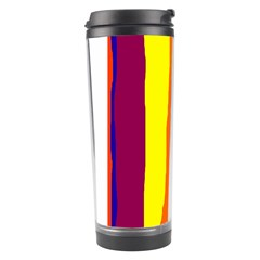 Hot colorful lines Travel Tumbler