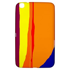 Hot colorful lines Samsung Galaxy Tab 3 (8 ) T3100 Hardshell Case