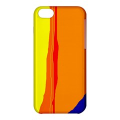 Hot colorful lines Apple iPhone 5C Hardshell Case